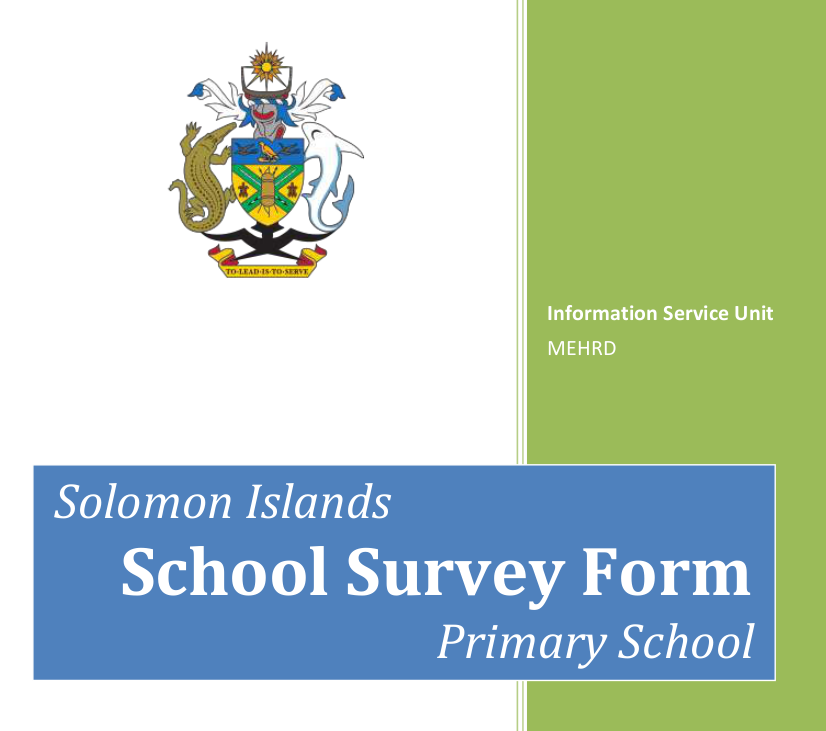 Solomon Islands EMIS Short Input Consultancy